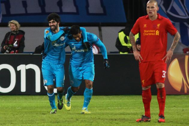 Zenit vs. Liverpool: 6 Things We Learned in Reds' Defeat
