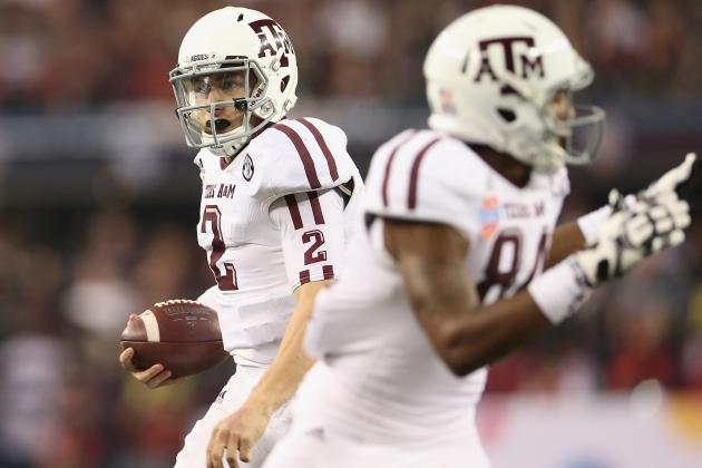 Johnny Manziel and 25 Players Who Won't Match Their 2012 Stat Lines in 2013