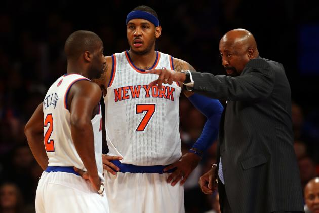 Grading the New York Knicks' Season at the All-Star Break