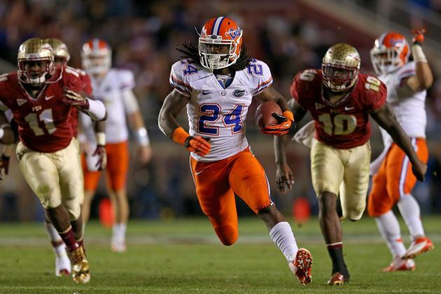 Florida Football: 5 Reasons Matt Jones Will Be a Breakout Star in 2013