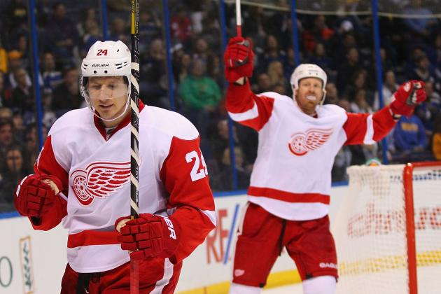 Early Season Stock Report for the Detroit Red Wings