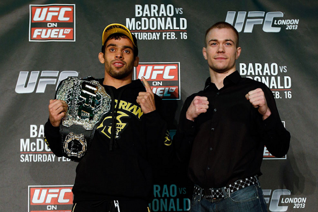 UFC on Fuel 7 Preview: Final Odds and Predictions for the Main Card