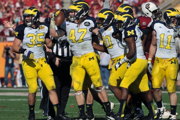 Michigan Football: Way Too Early Game-by-Game Schedule Predictions for 2013