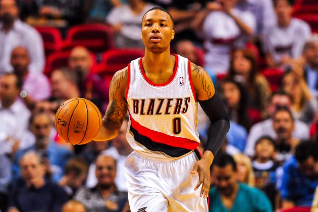 NBA Rookie Stock Watch: Can Anyone Top Damian Lillard in Season's Second Half?