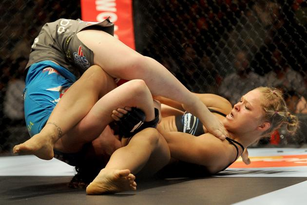 Power Ranking Ronda Rousey's Armbar Stoppages