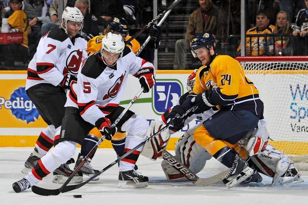 NHL Power Rankings: Do Not Count the Nashville Predators, New Jersey Devils Out