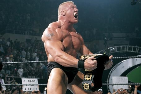 Brock Lesnar Will Be WWE Champion in 2013