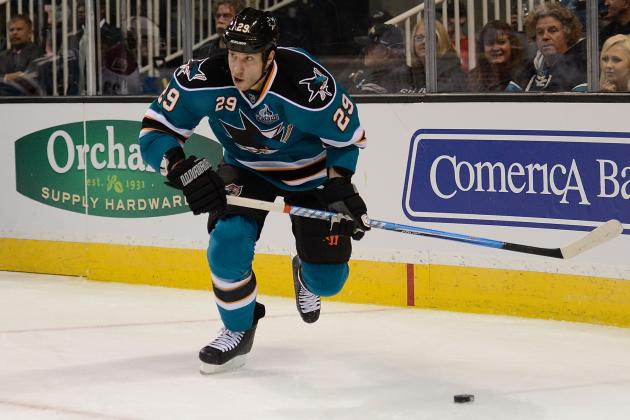 Predicting 2013 Season Statistics for Top-10 San Jose Sharks