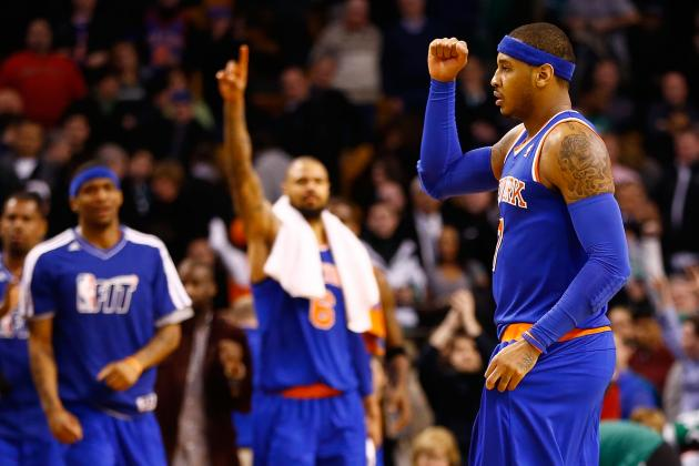 Grading the New York Knicks' 1st Half
