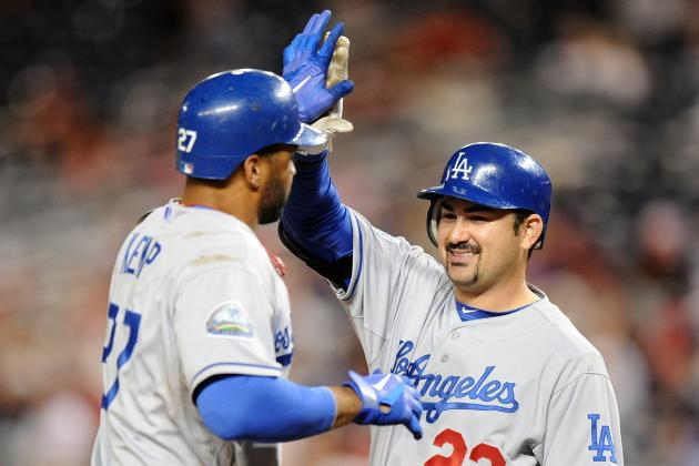 Los Angeles Dodgers: Early Projections for the Final 25-Man Roster