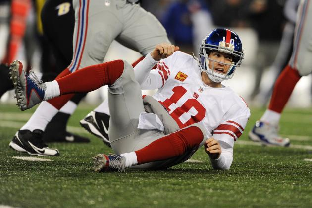 5 Reasons the New York Giants Could Miss the Playoffs in 2013