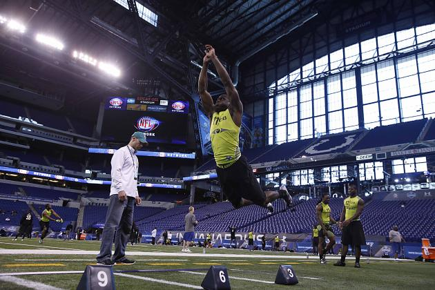 NFL Combine Records: Fastest 40 Times, Best Bench Press and More