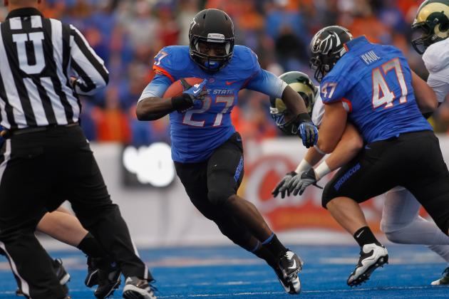 Boise State Football: A Look at the Broncos' 2013 Running Backs