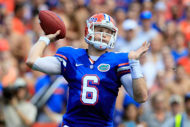 Florida Football: Stat Projections for Jeff Driskel's 2013 Season