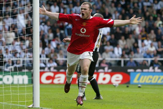 Amazing Goal Videos: 6 Great Manchester United Volleys