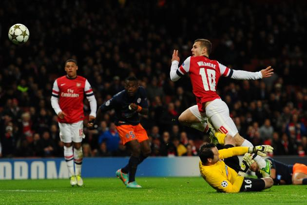 Ranking Jack Wilshere's 5 Goals for Arsenal So Far