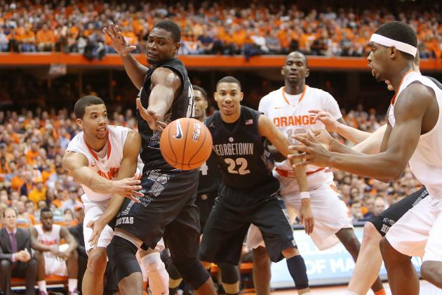 Georgetown Hoyas Top Syracuse Orange on the Road