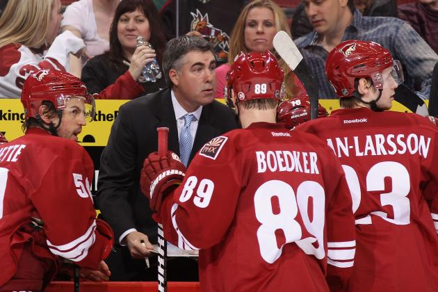 Phoenix Coyotes Early Season Stock Report