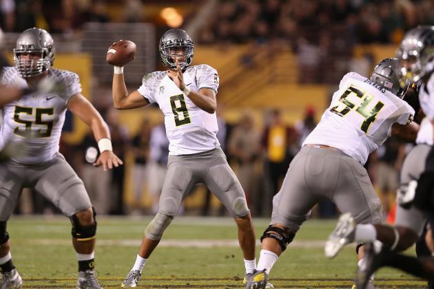 Oregon Football: Marcus Mariota's 5 Go-to Plays on Offense