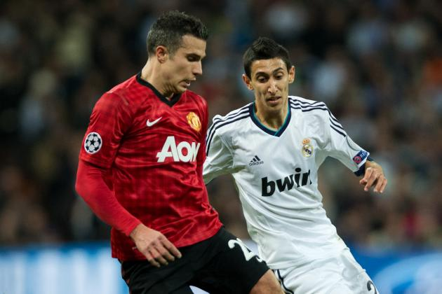 Manchester United vs. Real Madrid: 4 Tactical Issues Van Persie's Injury Causes