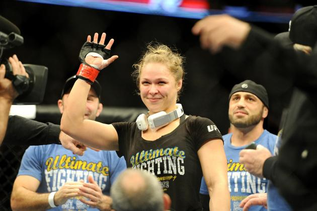 Ronda Rousey vs. Liz Carmouche Results: A Look Back at UFC 157