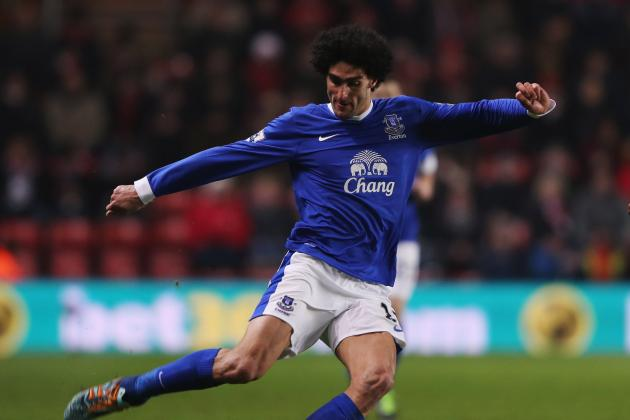 Everton Transfer Rumours: 5 Possible Replacements If Marouane Fellaini Leaves