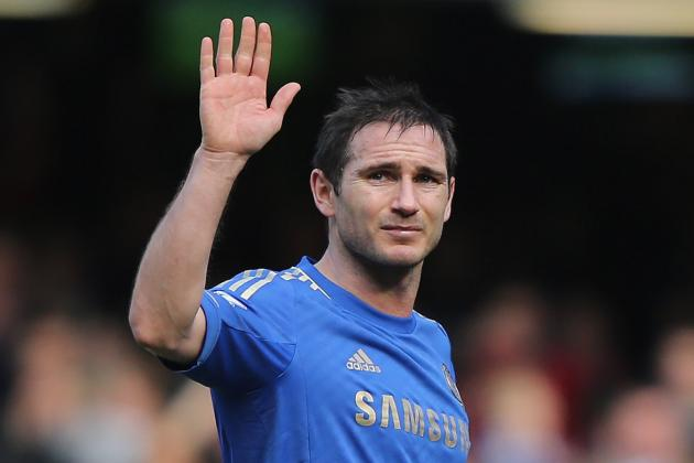 Frank Lampard: Comparing His Season-by-Season Premier League Stats for Chelsea