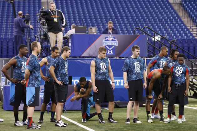 Indianapolis Colts Mock Draft: 7-Round Predictions, Post-Scouting Combine