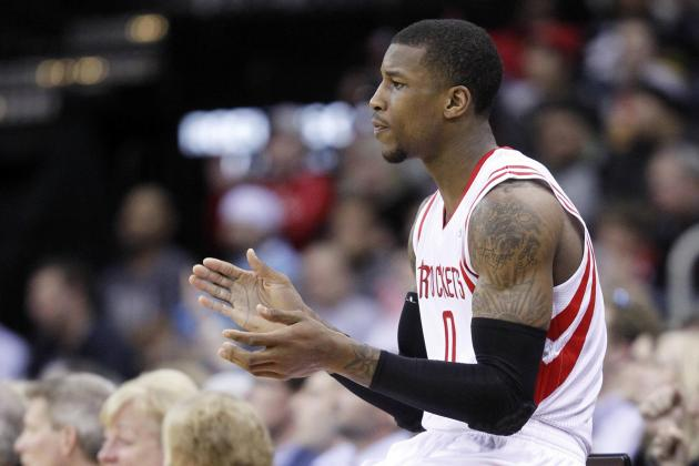 Report Card Grades for Thomas Robinson's Houston Rockets Debut