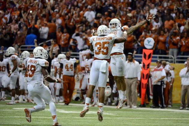 Texas Football: 5 Keys to Fixing 'Horns' Tackling Woes in 2013