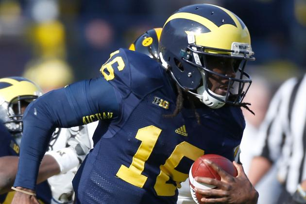 Michigan Football: 5 Reasons Denard Robinson Should Be on the Cover of NCAA 2014