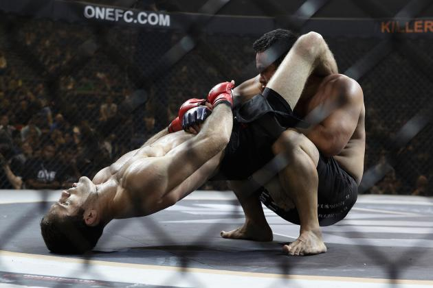 5 Worst Ways to Be Submitted in an MMA Fight