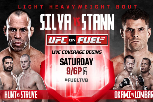 5 UFC on Fuel 8 Fighters with Knockout-Win Potential