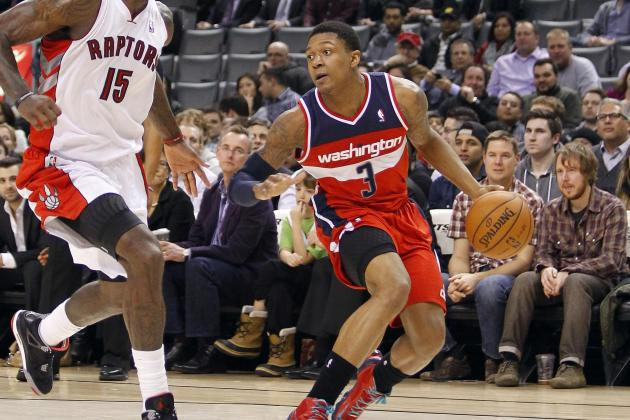 NBA Rookie Stock Watch: Can Bradley Beal Steal Damian Lillard's Crown?