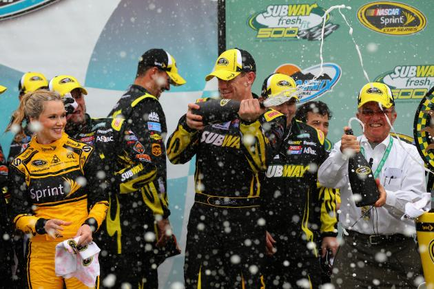 Winners and Losers from NASCAR Sprint Cup Series at Phoenix