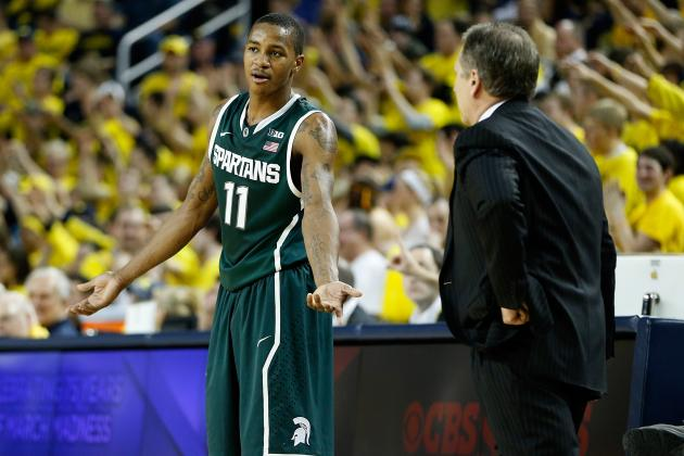 Michigan State Basketball: 5 Lessons Learned from the Loss to Michigan