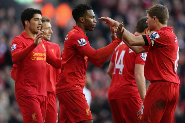 Ranking Liverpool's Best Single-Match Performances of 2012-13