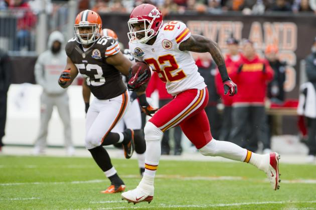 Realistic Best and Worst Case Scenarios for Chiefs New Contract with Dwayne Bowe