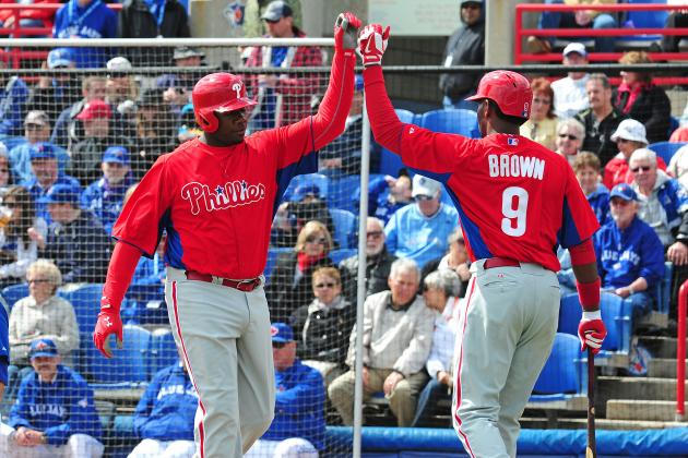 Predicting Philadelphia Phillies Starting Lineup Halfway Through Spring Training