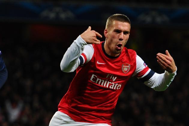 Lukas Podolski: Assessing His Contribution for Arsenal so Far