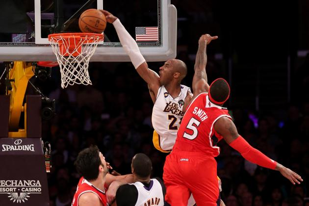 LA Lakers: 3 Reasons Kobe Bryant Deserves MVP Consideration