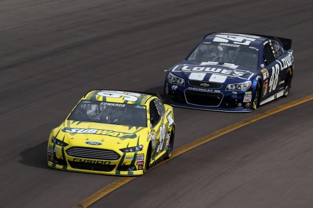5 NASCAR Drivers Riding a Big Momentum Wave Early in 2013