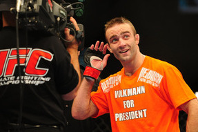 Most Awkward Moments from Jacob Volkmann's Time with the UFC