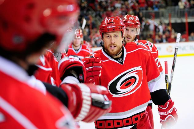 Carolina Hurricanes: Breaking Down Their Playoff Chances in 2013