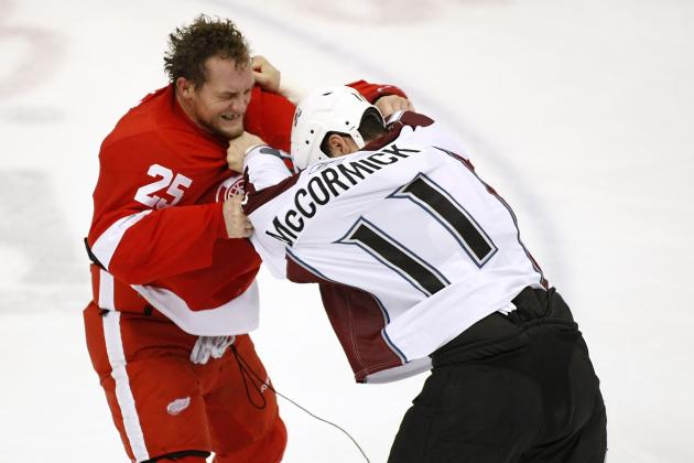 Detroit Red Wings: Top 10 Best Fighters of All Time