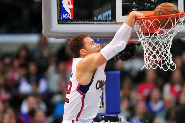 Ranking Blake Griffin's Sickest Dunks of the 2012-13 NBA Season