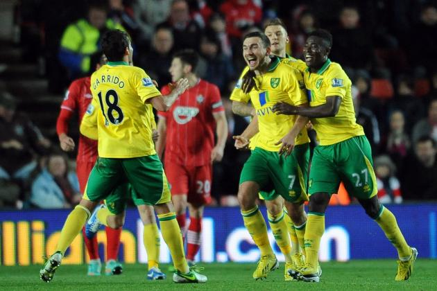 Picking a Norwich City Starting 11 to Take on Southampton