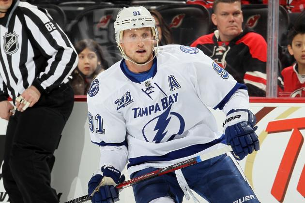 NHL Midseason Team-by-Team MVPs: Stamkos, Crosby and 28 Other Midseason Studs