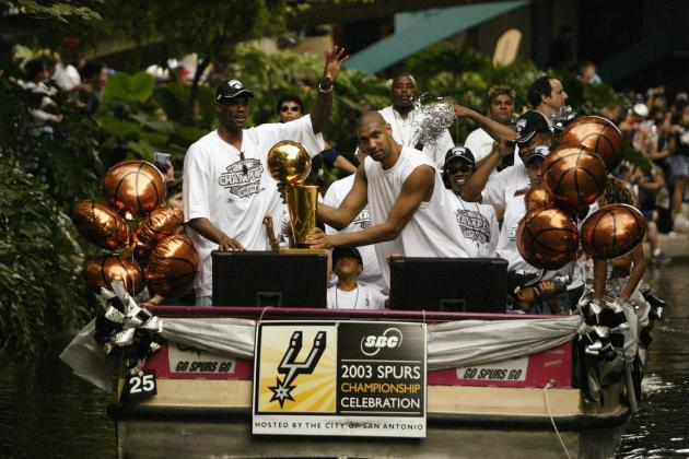 San Antonio Spurs' All-Time Dream Team