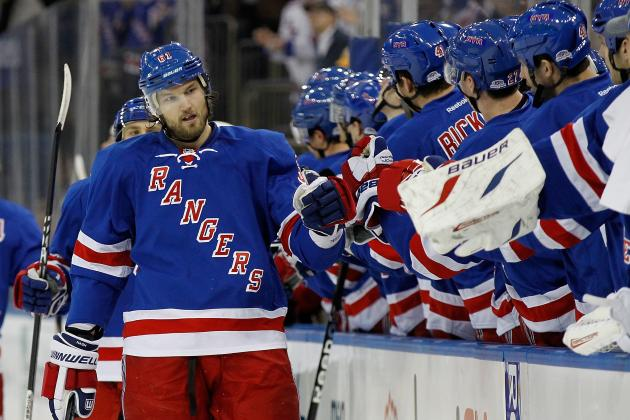 Updated Stat Predictions for the New York Rangers' 10 Best Players